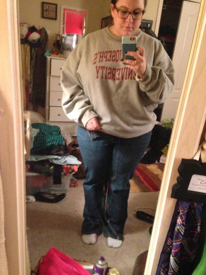 Week 1 Get Fit Jeans Challenge.