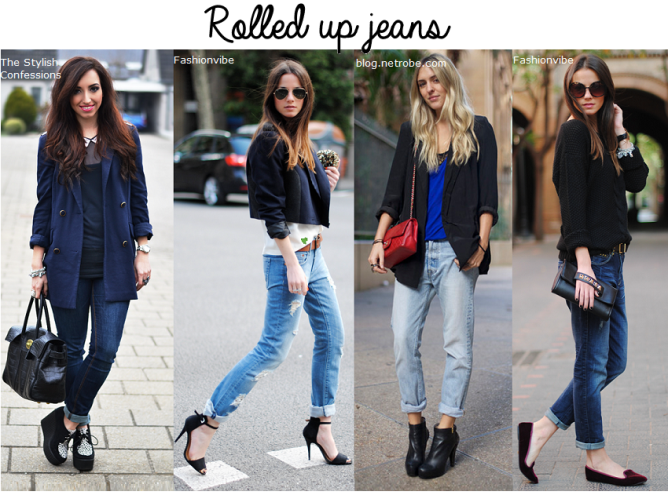 rolled up jeans trend